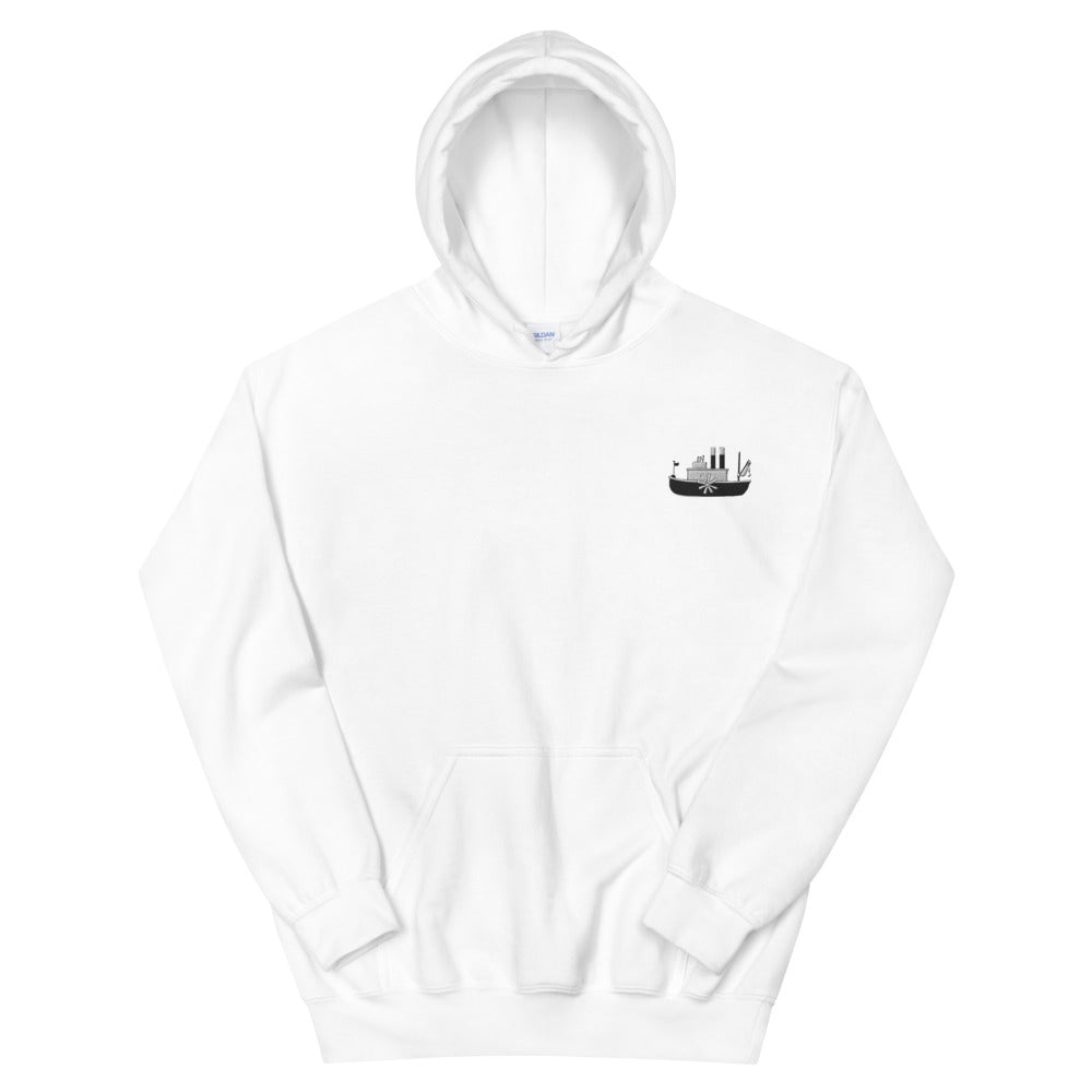 Steamboat Embroidered Hoodie