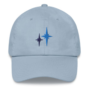 Second Star Embroidered Dad Hat