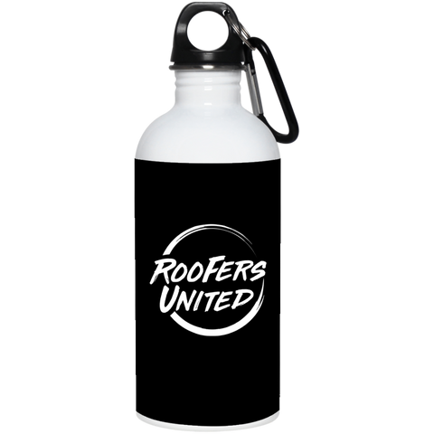 Roofers Circle United - Stainless Steel Water Bottle