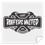 ROOFERS UNITED - STSQ Square Sticker