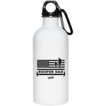 ROOFER DAD - Stainless Steel Water Bottle