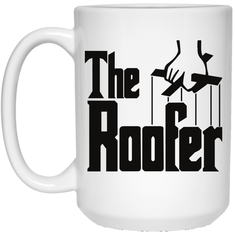 THE ROOFER - White Mug