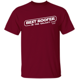 BEST ROOFER IN THE GALAXY - T-Shirt