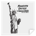 Roofers of Liberty - STSQ Square Sticker