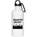 Roofers Hands Up - Stainless Steel Water Bottle