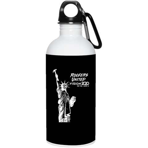 Roofers of Liberty - Stainless Steel Water Bottle