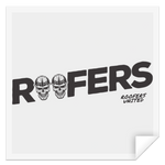 ROOFERS SKULLS - STSQ Square Sticker