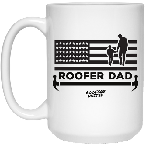ROOFER DAD - White Mug