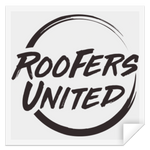 Roofers Circle United - STSQ Square Sticker