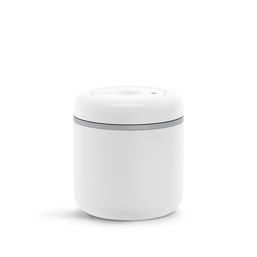 Fellow Atmos Vacuum Coffee Canister (0.7L Matte White )