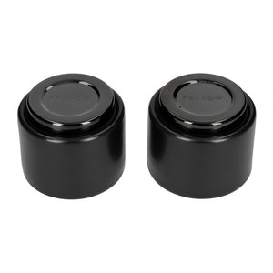 Fellow Monty Milk Art  (3oz Matte Black ) Espresso set of 2