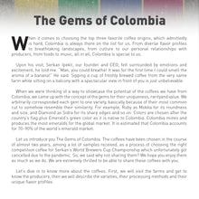 Load image into Gallery viewer, THE GEMS OF COLOMBIA