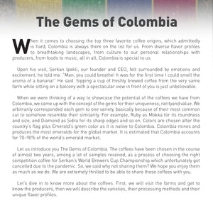 THE GEMS OF COLOMBIA
