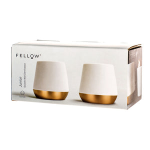 Fellow Junior (2oz Matte White Copper) Set of 2