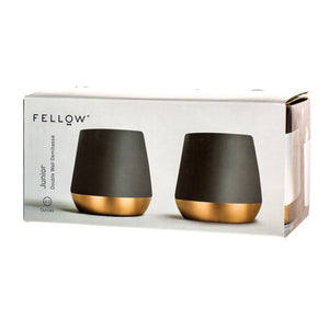 Fellow Junior (2oz Matte Black Copper) Set of 2