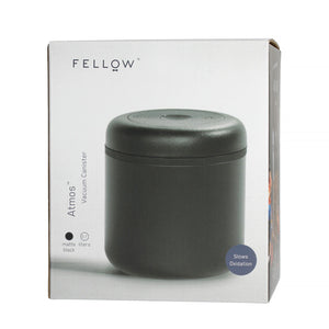 Fellow Atmos Vacuum Coffee Canister (0.7 L Matte Black )