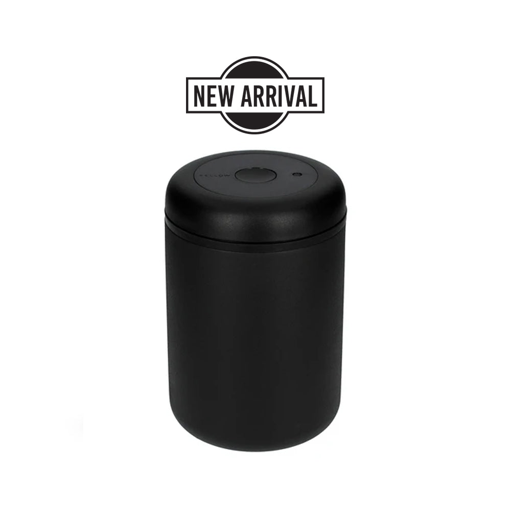 Fellow Atmos Vacuum Coffee Canister (1.2 L Matte Black )