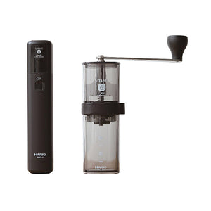 Hario Smart Coffee Mill & Mobile Mill Stick