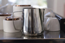 Load image into Gallery viewer, Barista Hustle Precision Milk Jug Polished steel 0.4L