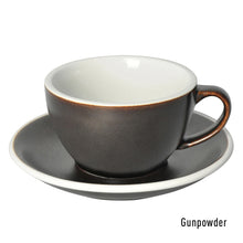 Load image into Gallery viewer, LOVERAMICS EGG 250ML LATTE CUP & SAUCER