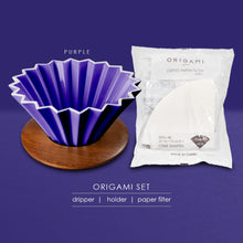 Load image into Gallery viewer, ORIGAMI DRIPPER SET