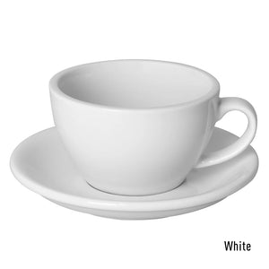 LOVERAMICS EGG 250ML LATTE CUP & SAUCER