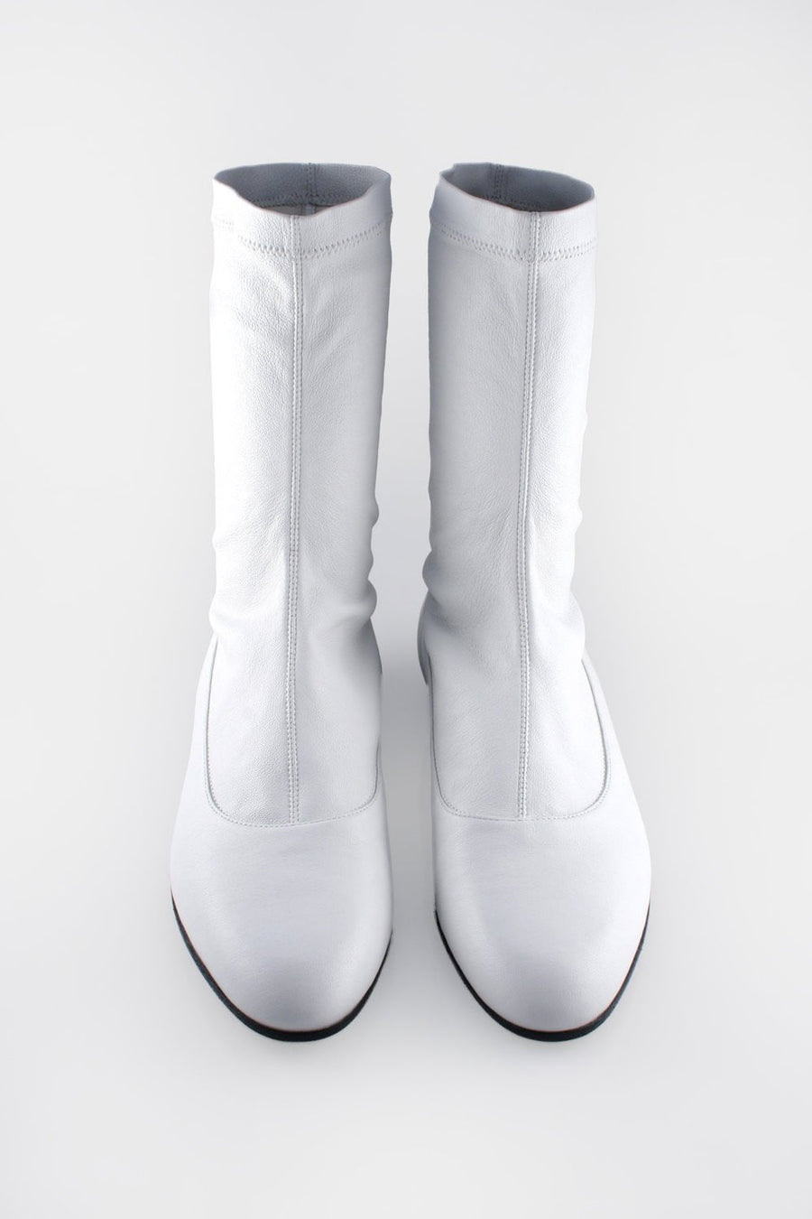 Stretch Stocking Boot White.