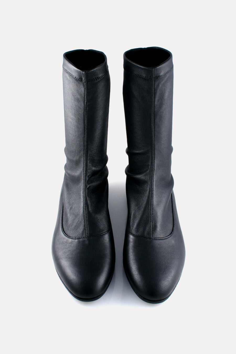 Stretch Stocking Boot Black.