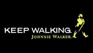KEEP WALKING JOHNNIE WALKER SIGN