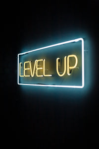 LEVEL UP SIGN