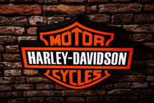 Load image into Gallery viewer, Harley Davidson Sign