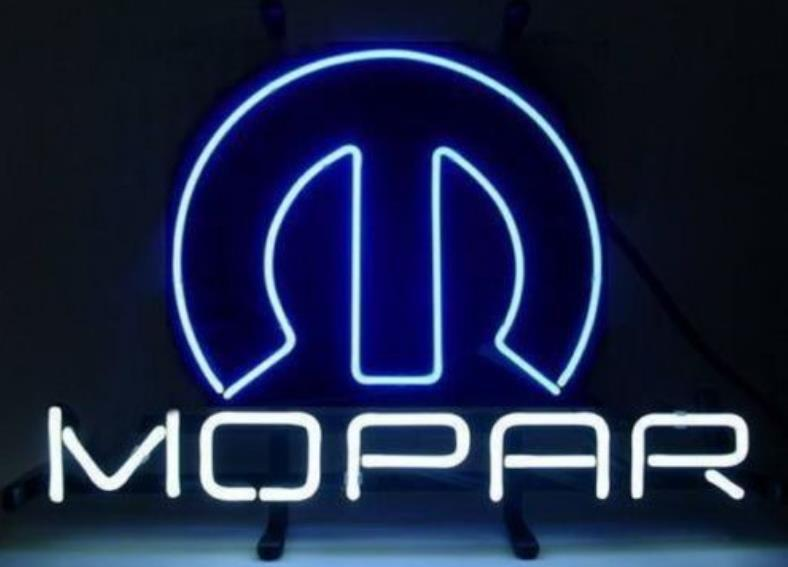Mopar Neon Sign