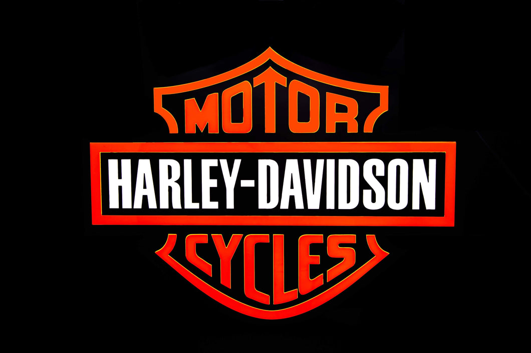 Harley Davidson Sign
