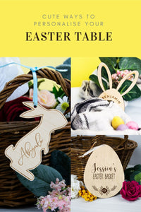 Personalise your Easter