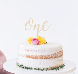 Cake Toppers | Birch and Tides