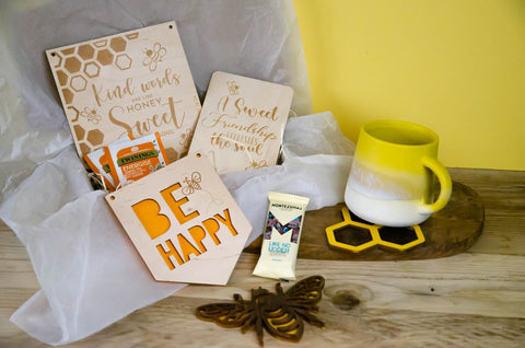 Bee Happy Gift box - Birch and Tides