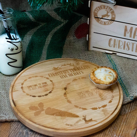 Christmas Eve personalised plate - Birch and Tides
