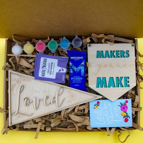 Craft lovers gift box - Birch and Tides