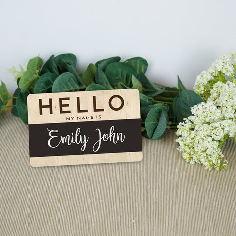 Hello, my name is.. Newborn name reveal - Birch and Tides
