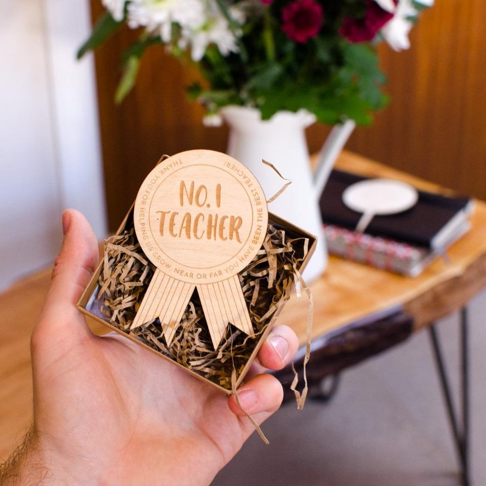 Personalised No.1 Teacher Award
