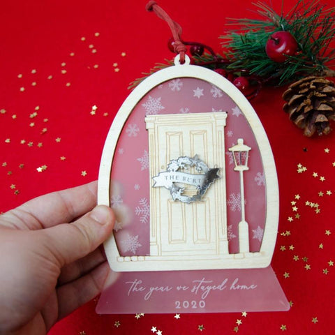 The Year we stayed home 2020  ornament
