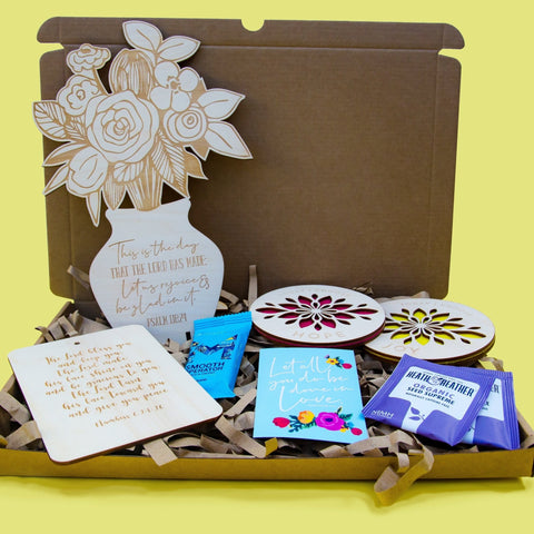 Send them some flowers gift box - Birch and Tides