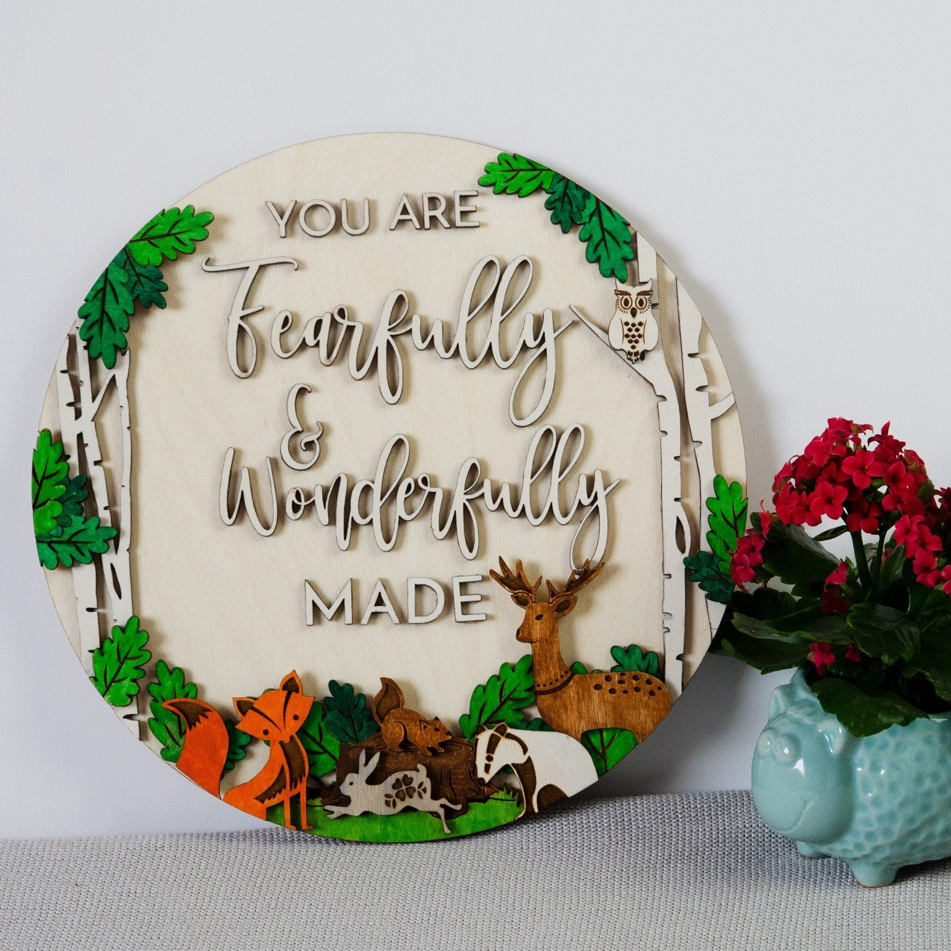 Woodland Fearfully & Wonderfully made