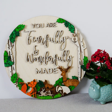 Woodland Fearfully & Wonderfully made - Birch and Tides