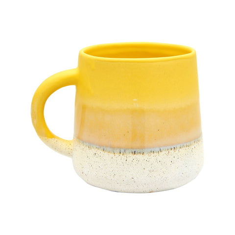 Yellow Mojave glaze mug - Birch and Tides