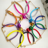 Bell Collar Colorful Floral Hollow-out Bells Dogs Cats Collar