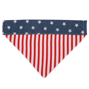 Dog Bandana American Flag