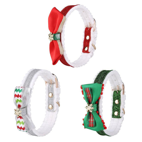 Christmas Pet Collar Snowflake