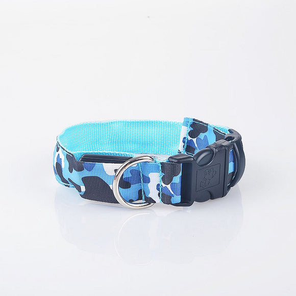 LED Dog Collar Glowing Pet Safety Collars