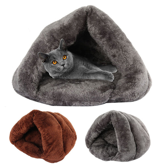 Winter Warm Pet Bed for Dog Cat Soft Fleece